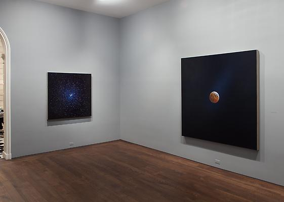 "Installation photo of ""Damian Loeb: Sol-d,"" on view at Acquavella Galleries February 28 through April 11, 2014 Image"