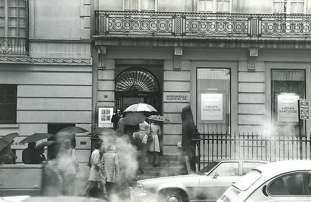 Exhibition at Acquavella Galleries, Fall 1973