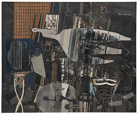 Studio V 1949–50 Oil on canvas 57 ⅞ x 69 ½ inches (147 x 176.5 cm) The Museum of Modern Art, New York. Acquired through the Lillie P. Bliss Bequest, 2000 Accession Number: 123.2000 Digital Image © The Museum of Modern Art/Licensed by SCALA / Art Resource, NY © 2011 Artists Rights Society (ARS), New York / ADAGP, Paris Image