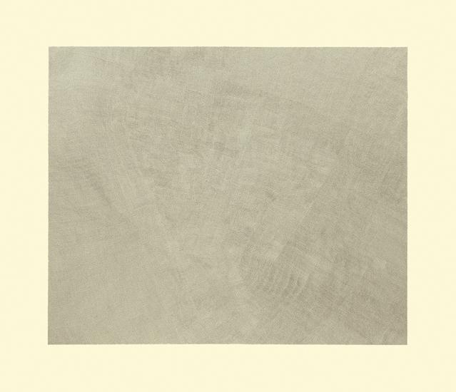 """Jacob El Hanani, """"Linen"""", 2014 Ink on paper, 32 x 37 inches Art © Jacob El Hanani"""