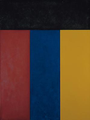 "Brice Marden, ""Elements V"", 1984, oil on canvas, 48 x 36 inches Image"