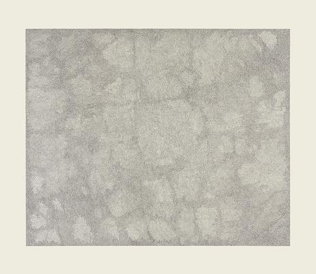 "Jacob El Hanani, ""Parallel Lines"", 2014-15 Ink on paper, 32 x 37 inches Art © Jacob El Hanani Image"