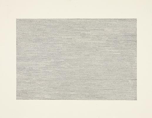 "Jacob El Hanani, ""Vertical = Horizontal"", 2007 Ink on paper, 18 x 24 inches Art © Jacob El Hanani Image"