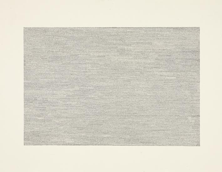 """Jacob El Hanani, """"Vertical = Horizontal"""", 2007 Ink on paper, 18 x 24 inches Art © Jacob El Hanani"""