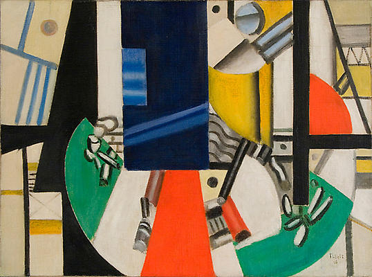 "Fernand Leger, ""Nature Morte, Etat Definitif,"" 1920 Oil on canvas, 23 1/2 x 32 inches"