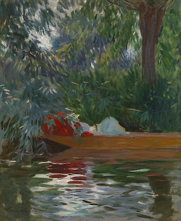 John Singer Sargent (1856-1925) Under the Willows, 1887 Oil on canvas 27 x 22 inches Private collection Image