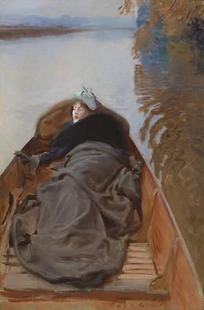 John Singer Sargent (1856-1925) Autumn on the River, 1889 Oil on canvas 29 x 18 1/2 inches Private collection Image