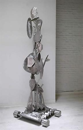 Big Chief, 2008 Stainless steel 101 x 31 x 36 inches Image