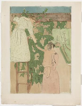 Gathering Fruit, 1893