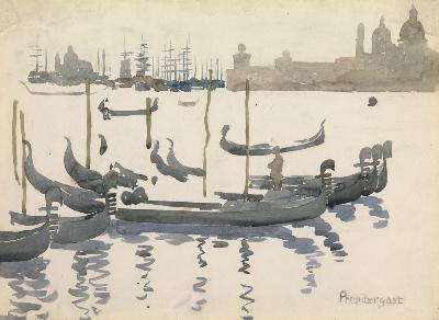 The Gondolas, Venice, c. 1898-99