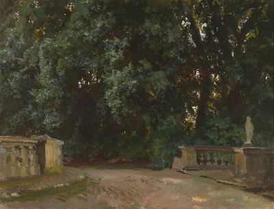 Villa Torlonia, Frascati (A View of the Park,Villa Torlonia, Frascati), 1907