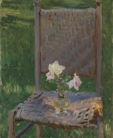 John Singer Sargent (1856-1925) The Old Chair, c. 1886 Oil on canvas 27 x 22 1/8 inches Private collection Image