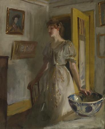 John Singer Sargent (1856-1925) The Blue Bowl, c. 1885-89 Oil on canvas on masonite 31 x 26 inches Addison Gallery of Art, Phillips Academy, Andover, Massachusetts Image