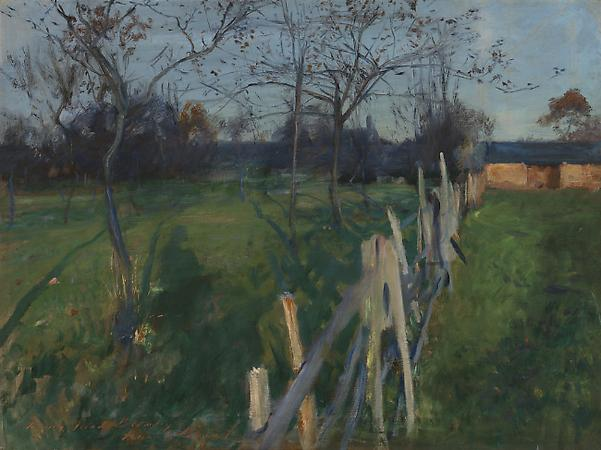 John Singer Sargent (1856-1925) Home Fields, c. 1885-86 Oil on canvas 28 3/4 x 38 inches Detroit Institute of Arts, City of Detroit Purchase Image