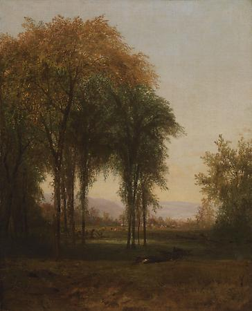 Landscape, c. 1865 Oil on canvas 22 1/16 x 18 inches Image