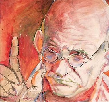 Paritosh Sen<br><i>Gandhi</i>