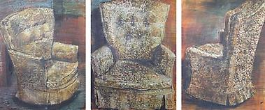 Indrapramit Roy<br><i>The Chair (triptych)</i>