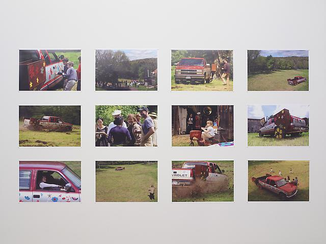 Brian Tolle and Diana Balmori Skid Rows II (2008)  12 C-prints; 10h x 15w in (25.4h x 38.1w cm)