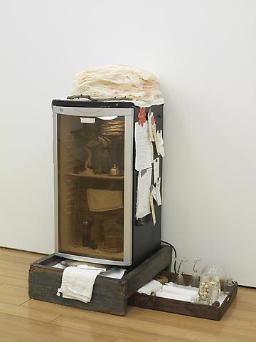 J. Morgan Puett Scrabble Dinner Hoosh (2008)  Installation