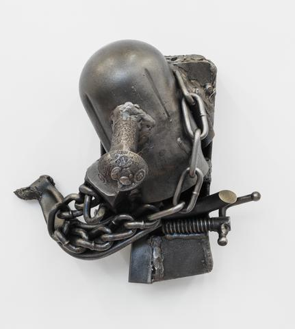 Alterable, 1992 Welded steel 10.3 x 9 x 7.8 in (26.16h x 22.86w x 19.81d cm)