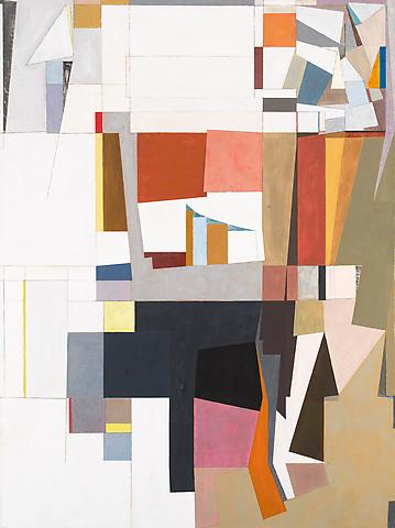 Some Difference (1986) Oil on canvas 76h x 57w in (193.04h x 144.78w cm)