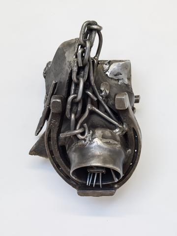 A Symptom of, 1999 Welded steel 12 x 8.3 x 6.3 in (30.48h x 21.08w x 16d cm)