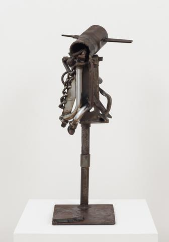 A Sign of X, 1984-1994 Welded steel 29.5 x 13 x 13.3 in (74.93h x 33.02w x 33.78d cm)