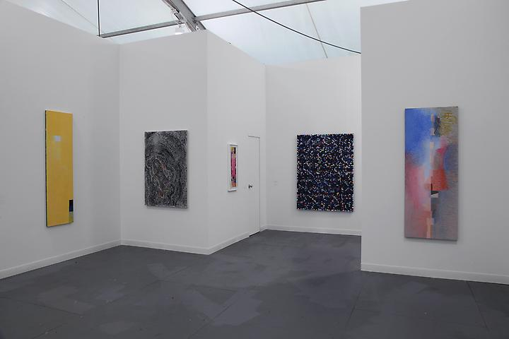 Jeremy Gilbert-Rolfe and Jack Whitten Frieze New York 2012 Installation view