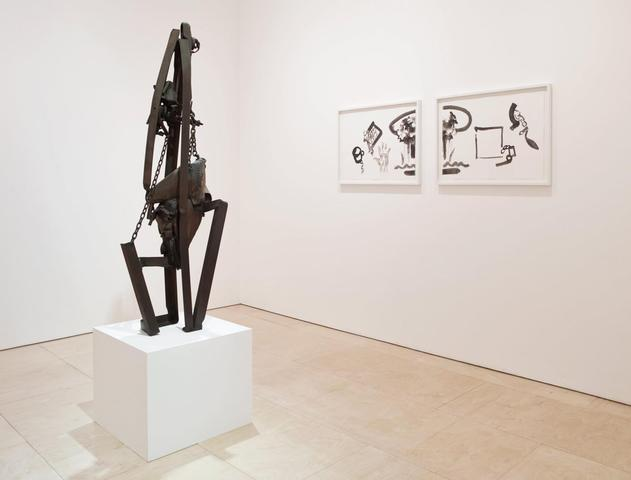Melvin Edwards, Installation View, Stephen Friedman Gallery (2014)