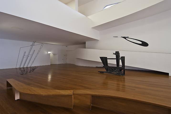 Installation view (2011) Fundacáo Ibere Camargo