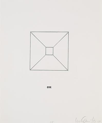 <i>Envelope</i> (1967) Series of ten etchings with rubber stamp; 16.14h x 13.58w in (41h x 34.49w cm) Edition of 5 with 1 AP