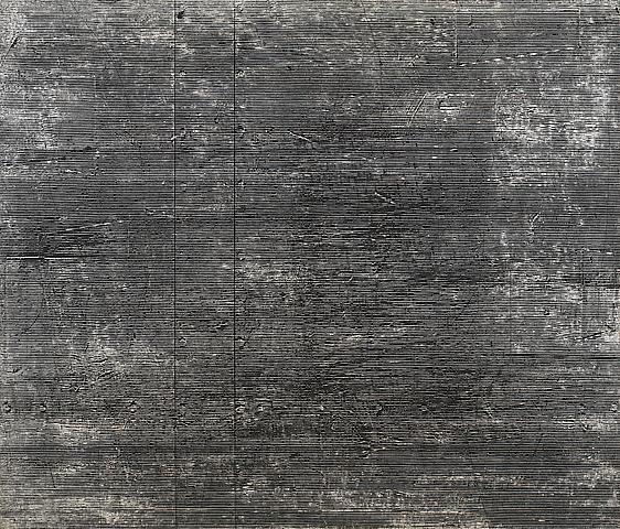 Rho I (1977 ) Acrylic on canvas 72h x 84w in (182.88h x 213.36w cm)