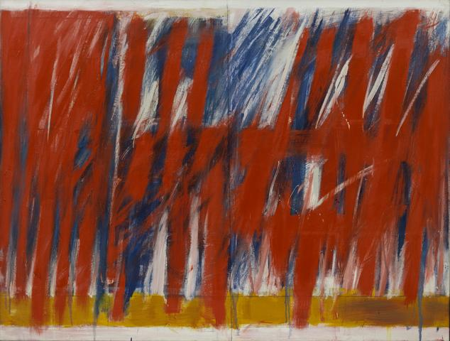 West 23rd (1963) Oil on canvas  60.13h x 80w in (152.7h x 203.2w cm) Collection of The Museum of Modern Art, New York