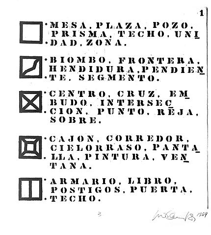 Dictionary (1969) Etching 26.3h x 25.2w in (66.8h x 64.01w cm)