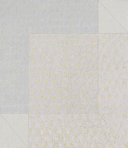 Q4-74 #1 (1974) Oil on linen 80h x 70w in (203.2h x 177.8w cm)