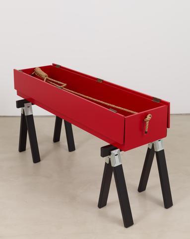 Tomb for Dietrich Bonhoeffer (2016) Mixed media 42h x 79w x 32d in (106.7h x 200.7w x 81.3d cm)