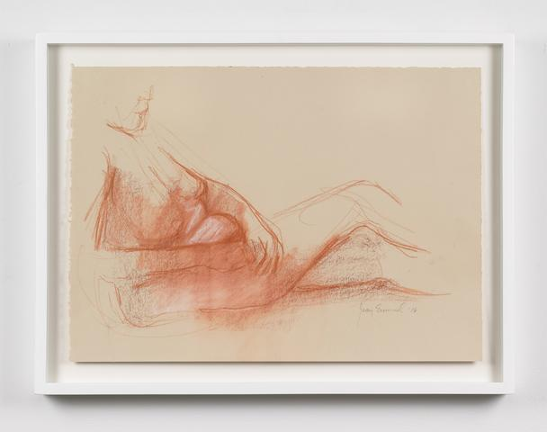 Untitled  (2016) Oil crayon on paper 14h x 19.5w in (35.6h x 49.5w cm)