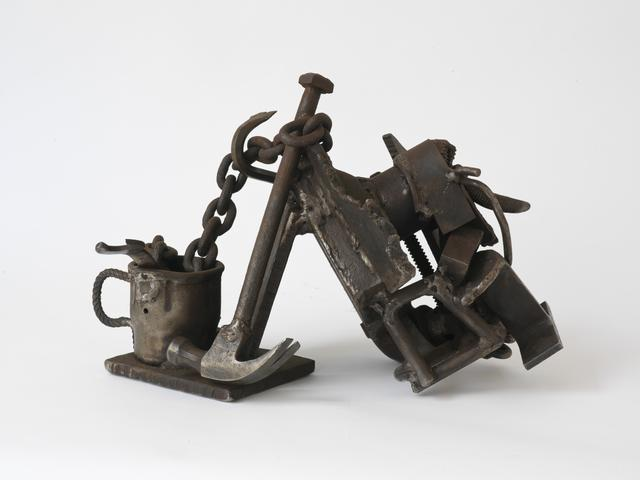 Steel Life (1985-1991) Welded steel 12.5h x 18w x 17.75d in (31.8h x 45.7w x 45.1d cm)