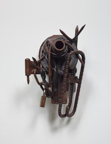 Djeri Djeff (c. 2004) Welded steel 11.25h x 7.25w x 5.75d in (28.6h x 18.4w x 14.6d cm)