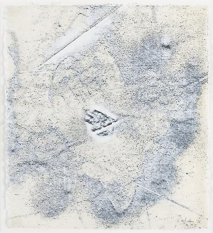 Nemesis 3 (2011) Graphite and acrylic on rice paper 14h x 12.25w in (35.56h x 31.12w cm)