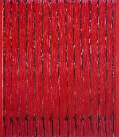 Redfield (1969-72) Oil on canvas  80h x 70w in (203.2h x 177.8w cm)