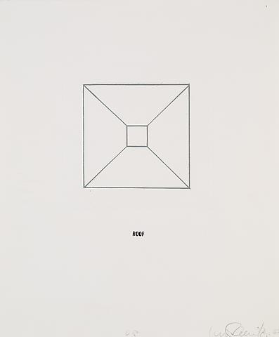 Envelope (1967) Etching with rubber stamp ink on paper; Editioned (approx.12) 10 parts; 16.14h x 13.58w in (41h x 34.49w cm)