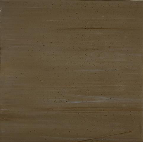 Third Testing (Slab) (1972) Acrylic on canvas 34.75h x 35.13w in (88.27h x 89.23w cm)