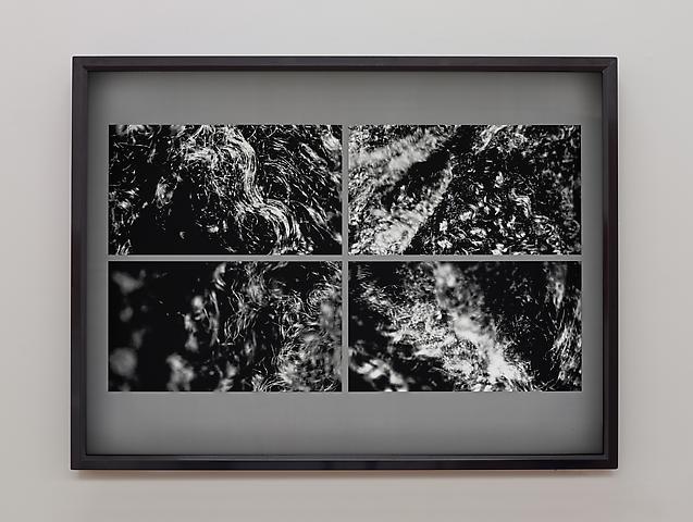 Lorraine O'Grady; Landscape Quartet #1, Movement 1 (2013) Transparency on light box 30h x 40w in (76.2h x 101.6w cm)