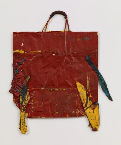 Untitled (1971) Mixed Media 28.5h x 23.5w in (72.4h x 59.7w cm)