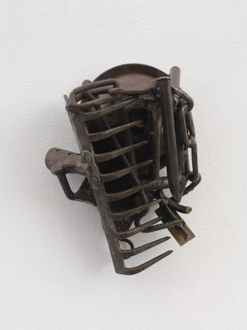 Mali (2007) Welded steel 10.75h x 8.75w x 5.75d in (27.3h x 22.2w x 14.6d cm)