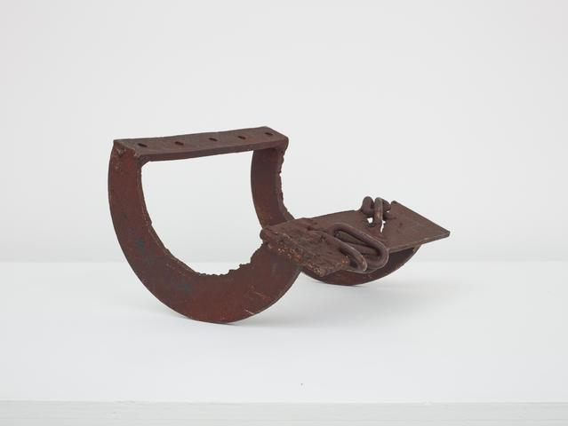 Untitled (Prototype Small Rocker) (c. 1970) Welded steel 7h x 10.5w x 10d in (17.8h x 26.7w x 25.4d cm)