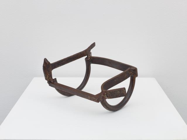 Untitled Rocker (1976) Welded Steel 6.13h x 9.75w x 8.88d in (15.6h x 24.8w x 22.6d cm)