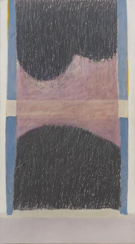 Rime (1966) Oil on canvas  95h x 53w in (241.3h x 134.6w cm)