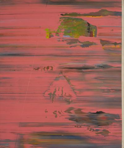 Pink Psyche Queen (1973) Acrylic on canvas 71h x 60w in (180.3h x 152.4w cm)